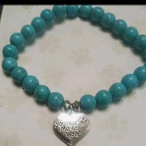 Native American made turquoise bracelet
